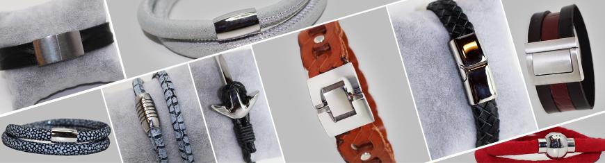 Locks for Flat leather -- All sizes --- Matt finish