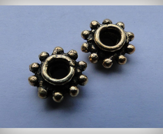 Antique Gold Small Sized Beads