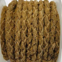 Braided Suede Leather Cords - 5mm