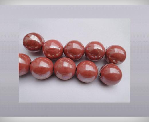 Ceramic  Round - 25mm