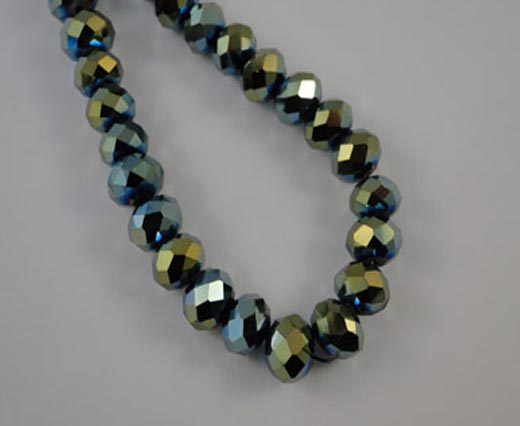 Crystal Round faceted - 6mm
