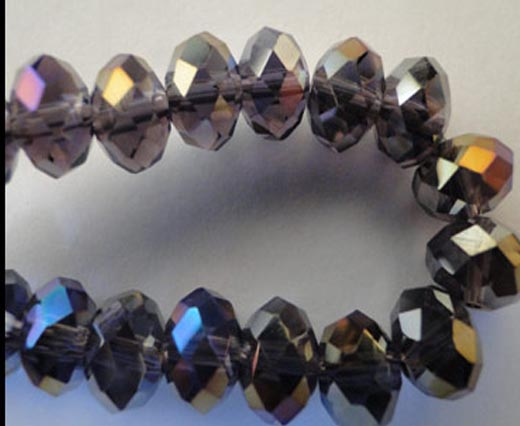 Crystal round faceted - 16mm