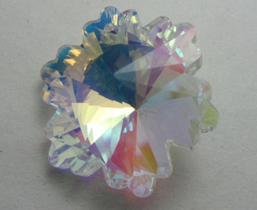 Faceted Crystal Glass Beads