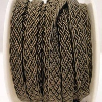 Flat Braided Cotton Cords