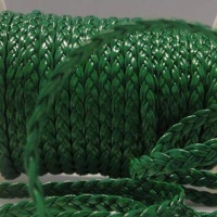 Flat Eco Braided Leather - 5mm