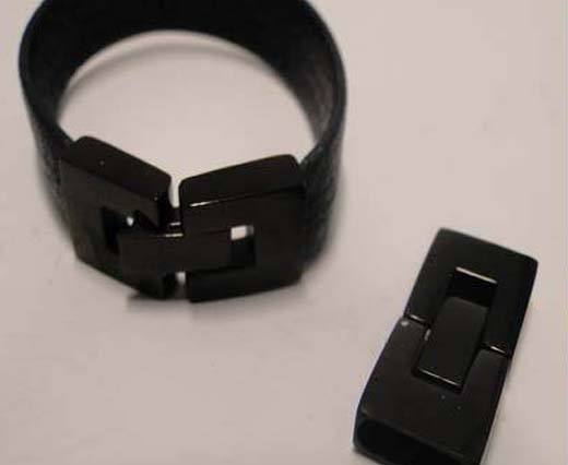 For flat leather - Size 10mm