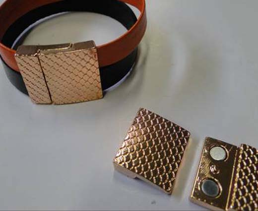 For flat leather - Size 20mm