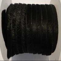 Hair - On Flat Leather Laces - 10 mm