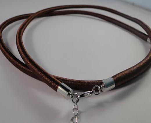 Necklace Cords in Wire and Rubber