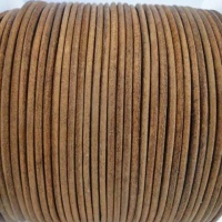 Round Leather Cords- 2mm - Vintage Style