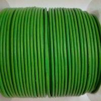 Round Leather Cords - 2mm - Plain Colours
