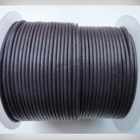 Round Leather Cords - 2mm