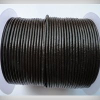 Round Leather Cords - 5mm