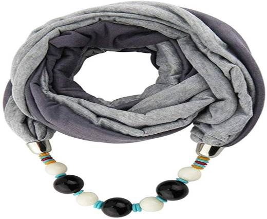Scarfs with Beads
