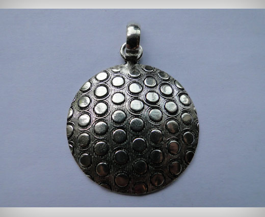 Silver Plated Pendals