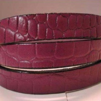 Vegetable Tanned Flat Leather - Animal Prints
