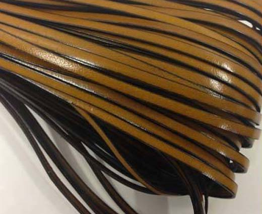 Real Flat Italian Leather Cords - 4 mm * 2 mm