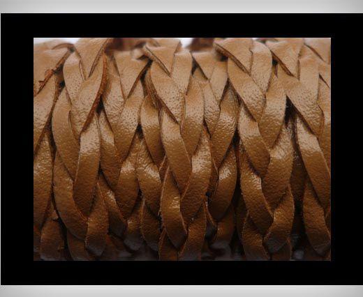 6mm-Flat Braided-Brown