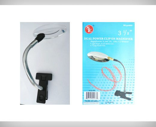 Dual Power Clip on Magnifier