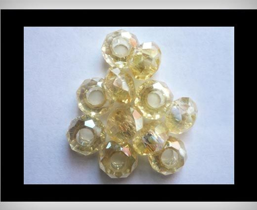 Faceted-Big-Hole-Lime AB