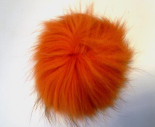 Finn Raccoon Pom Pom-Orange-14cms