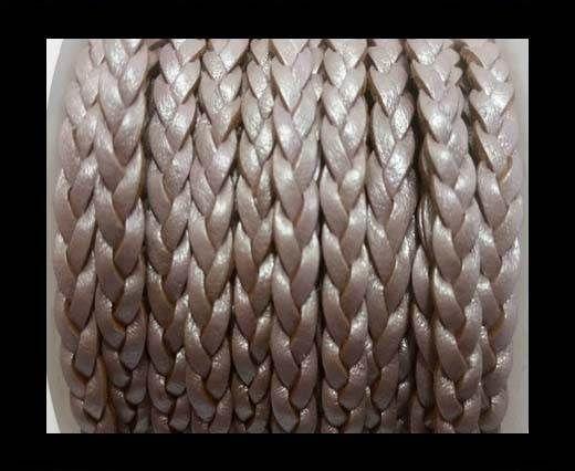 Choti-Flat 3-ply Braided Leather -SE M 07