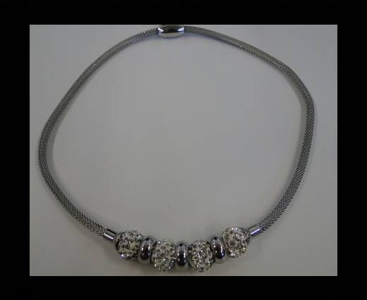 High Quality Steel Neclace-number 4