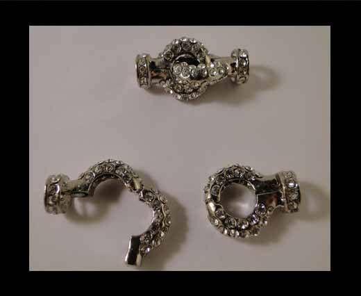 Magnetic Locks MG34-Silver Crystals