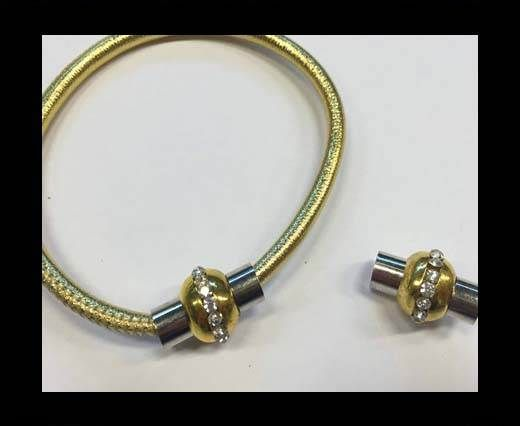 MGL-03-5mm-gold/silver+strass