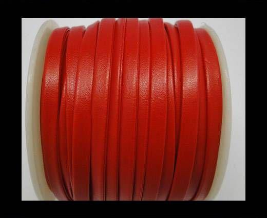 Nappa Flat PU -Red -5mm