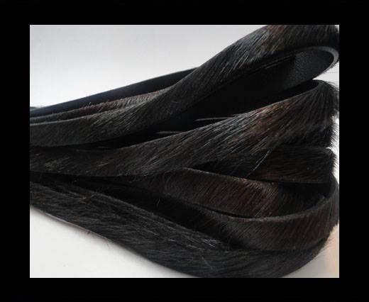 Pony Hair Leather- 10mm-Dark Brown
