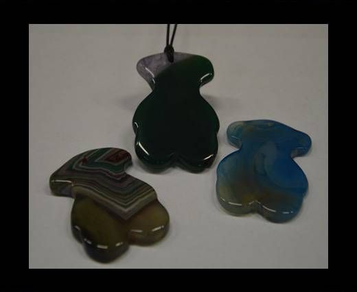 Semi Precious Stones item 19-mixed