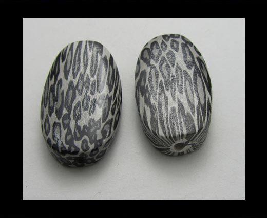 Snake Wooden Beads NSSB-01