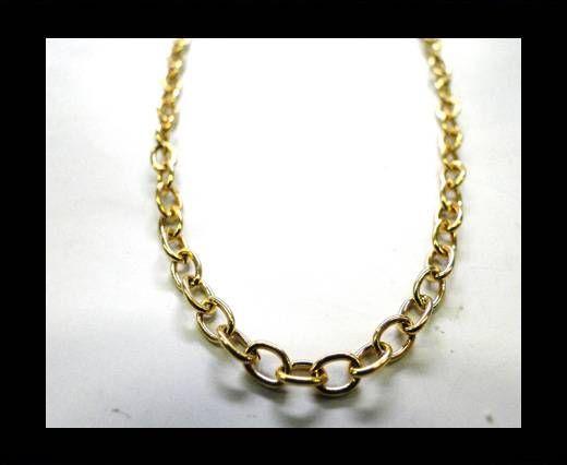 Steel Chain Item 16 Gold