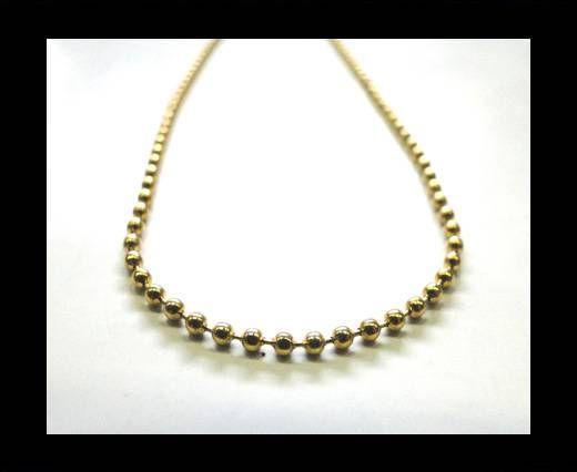 Steel Chain Item 23 Gold