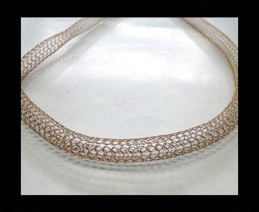 Steel Chain Item 6 Rose Gold -4mm