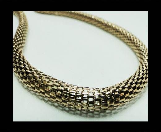 Steel chain item number-10-rose gold
