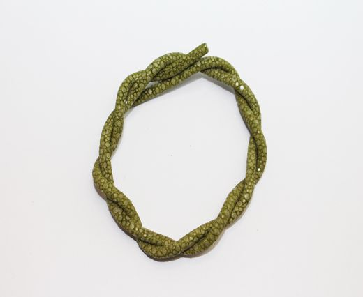 Stingray Cord - 4mm - Olive Green