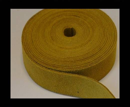 Suede Cords-15mm-SE-CS-11-Yellow