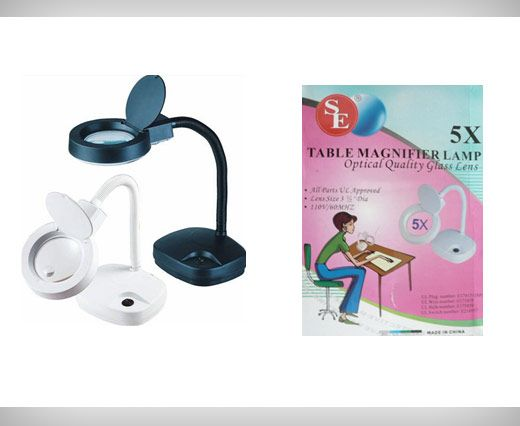 Table Magnifier Lamp