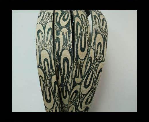 Vintage Style Flat Leather - 20mm-colour 38