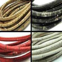 Buy Leather Cord Cork Cord Round at wholesale prices