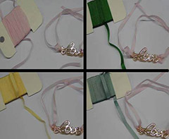 Buy Silk Cords and Ribbons Pure Silk Ribbons - 4mm  at wholesale prices