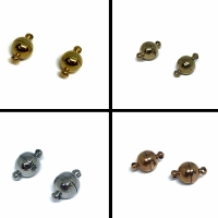 Buy Clasps Magnetic Clasps  Stainless Steel Magnetic Clasps Magnetic Necklace Clasp  at wholesale prices