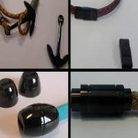 Buy Clasps Magnetic Clasps  Stainless Steel Magnetic Clasps Black Clasp at wholesale prices