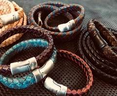 Buy Leather Cord Ready Leather Bracelets  at wholesale prices