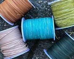 Buy Leather Cord Round Leather 1.5mm  at wholesale prices