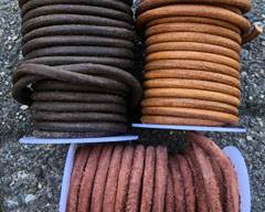 Buy Leather Cord Round Leather 6mm  at wholesale prices