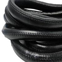 Buy Lederbänder Rund gesäumt 12mm  at wholesale prices