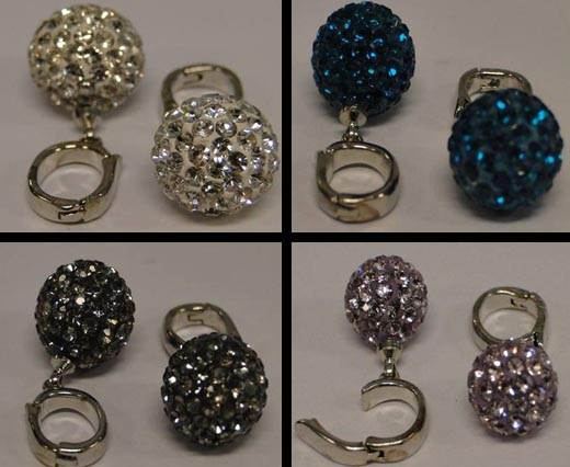Buy Perles Shamballa Avec anneau 10mm  at wholesale prices